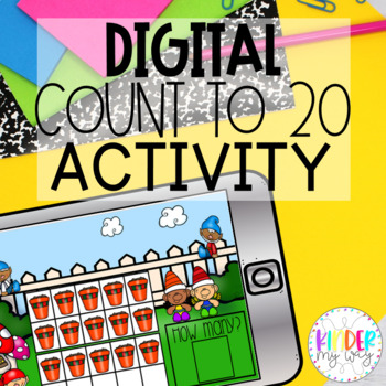 Google Classroom Kindergarten Counting to 20