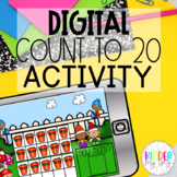 DIGITAL Counting to 20 Activity | Google Classroom Countin
