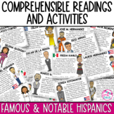 Spanish Reading Comprehension Passages & Activities - Famo