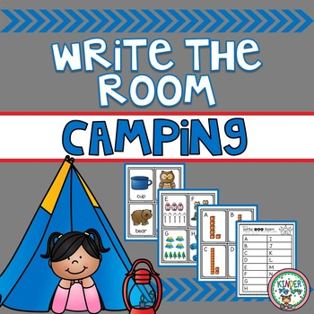 Camping Write the Room