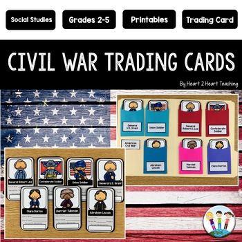 Civil War Activities: Create Your Own Trading Cards