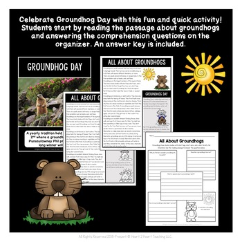 Groundhog Day Activities: Groundhog Day Craft Project