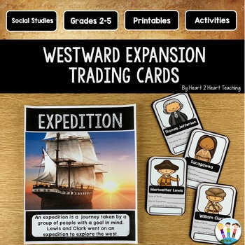 Westward Expansion Project: Create Your Own Trading Cards