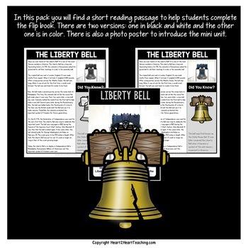 Liberty Bell Mini Unit with Flip Book