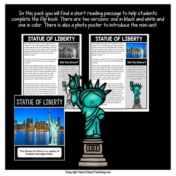 The Statue of Liberty Mini Unit with Flip Book