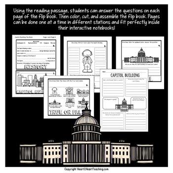 American Symbols: The Capitol Building Mini Unit with Flip Book