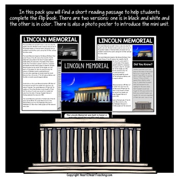 American Symbols: The Lincoln Memorial Mini Unit with Flip Book