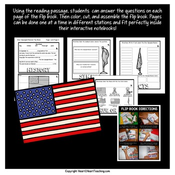 The Star-Spangled Banner Mini Unit with Flip Book