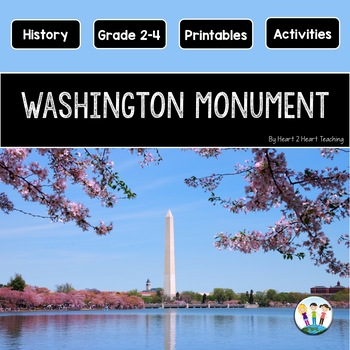 The Washington Monument Mini Unit with Flip Book
