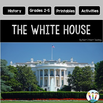 American Symbols: The White House Mini Unit with Flip Book
