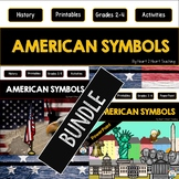 12 American Symbols BUNDLE: Articles, Activities, PowerPoint, & Task Cards