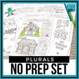No Prep Regular & Irregular Past Tense Verbs