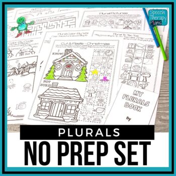 No Prep Regular & Irregular Past Tense Verbs