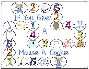 Speech and Language Activities: If You Give A Mouse A Cookie Book Companion