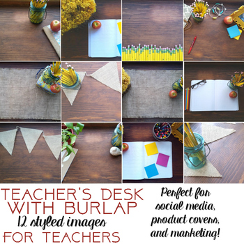 Styled Images - Teacher's Desk