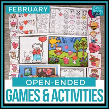 Open Ended Language & Articulation Games - February