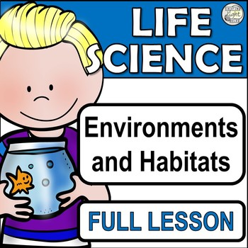 Environments and Habitats - Growth and Survival of Living Things Science Unit