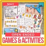 Open Ended Speech & Language Games - Summer