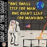 Apollo 11 Moon Landing Collaboration Poster - Fun Space Poster (NASA)