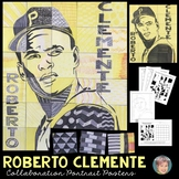 Roberto Clemente Collaboration Poster   Afro-Latino Heritage