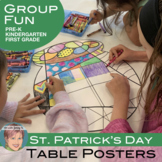 St. Patrick's Day Activity: St. Patrick's Day Group Colori