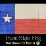 Texas State Flag Collaboration Poster - The Lone Star State
