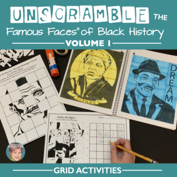 Unscramble the Famous Faces® of Black History (Volume 1)