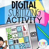 Google Classroom Subitizing Activities for Kindergarten  