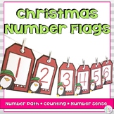 Christmas Number Line Math