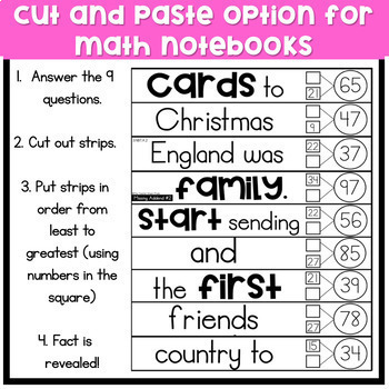 3rd Grade Math Puzzles | Unravel the Fact: Christmas Around the World Edition