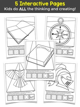 Freak the Mighty Novel Study Activity - Symbol Coloring Pages + Writing!