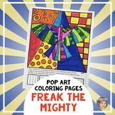 Freak the Mighty Novel Study Activity - Symbol Coloring Pa