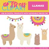Llama Clip Art (Digital Use Ok!)