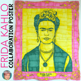 Frida Kahlo Collaborative Poster - Fun Hispanic Heritage Month Activity!
