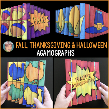 Agamographs Designed for Fall Activities, Halloween Activities & Thanksgiving!