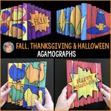 Fun Thanksgiving Activity or Thanksgiving Craft: Fall Agamograph Set + Writing