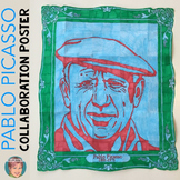 Pablo Picasso Collaboration Poster - Famous Artist Series