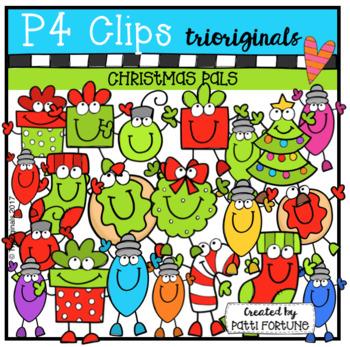 Christmas Pals (P4 Clips Trioriginals Clip Art)