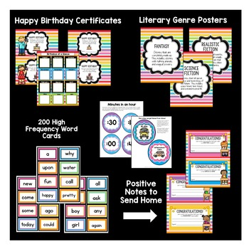 Classroom Decor Pack #5: Everything You Need to Set up Your Classroom