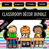 Classroom Decor Pack #5: Everything You Need to Set up You