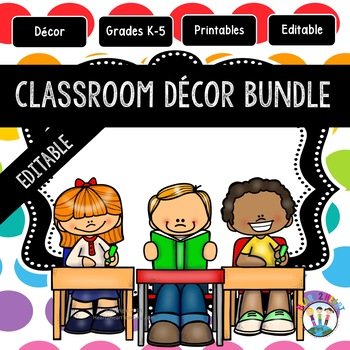 Classroom Decor Pack #7: Everything You Need to Set up Your Classroom