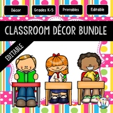 Pink Stripes and Polka Dots Classroom Decor Pack #8