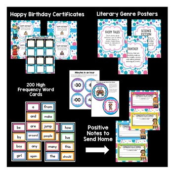 Classroom Decor Pack #9: Everything You Need to Set up Your Classroom