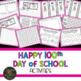 100th Day of School Activities