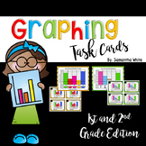 Graphing Task Cards {1st & 2nd Grade}