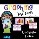 Graphing Task Cards {Kindergarten Edition}