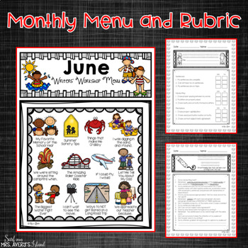 Writing Prompts and Word Work Activities