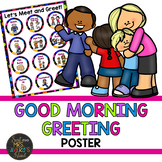 Morning Message Meet and Greet Poster - Editable