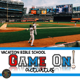 "Vacation Bible School ""Game On"" Activities"