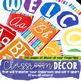 Watercolor Brights Classroom Decor Set